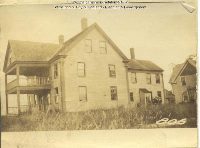 Williams property, W. Side Centennial Street, Peaks Island, Portland, 1924