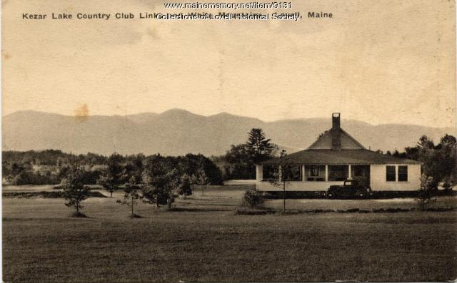Kezar Lake Country Club, Lovell. ca. 1920