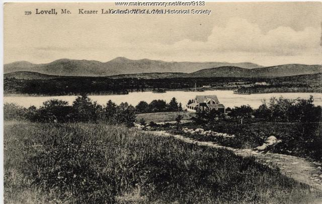 Lovell,  Keazer Lake and White Mountains