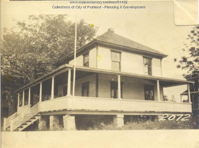 Long Island Ladies Improvement Association  property, S. Side Island Avenue, Long Island, Portland, 1924