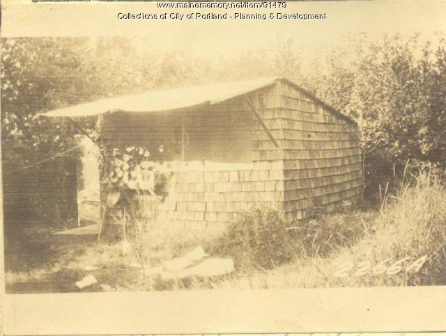 Hodgdon property, Island Avenue, Long Island, Portland, 1924