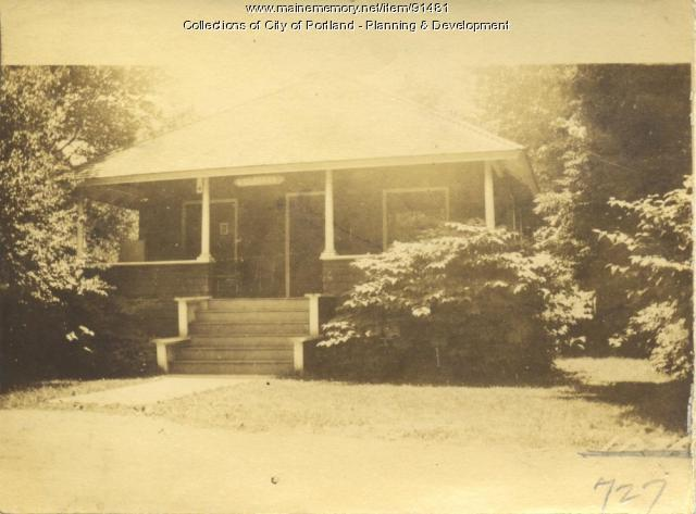 Charleton property, Central Avenue, N. Side Pond Grove, Peaks Island, Portland, 1924