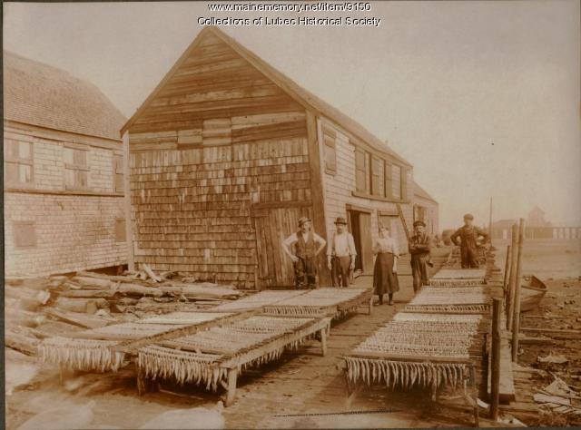 Miller Family Smokehouse, Lubec