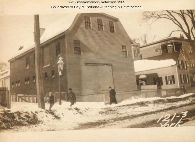 121-125 York Street, Portland, 1924