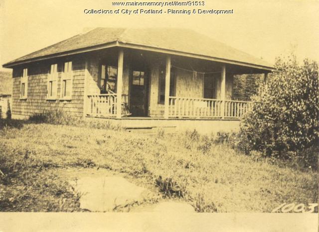 Foster property, S. Side Edwards Street, Lot 276, Peaks Island, Portland, 1924