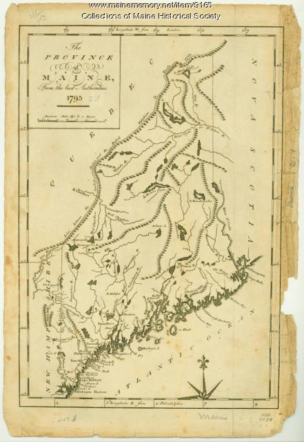 Province of Maine, 1795