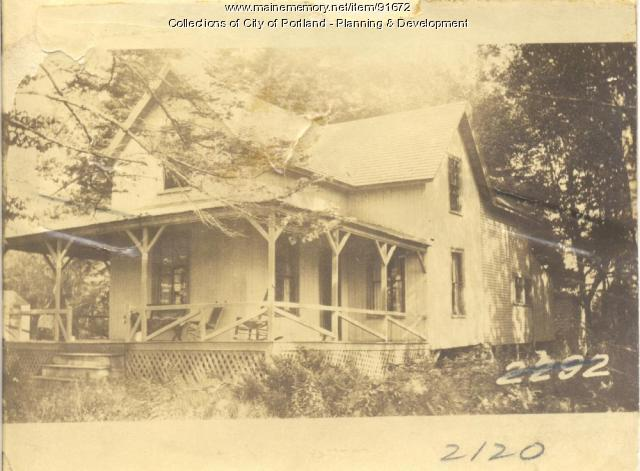 Richmond property, S. Side Island Avenue, Long Island, Portland, 1924