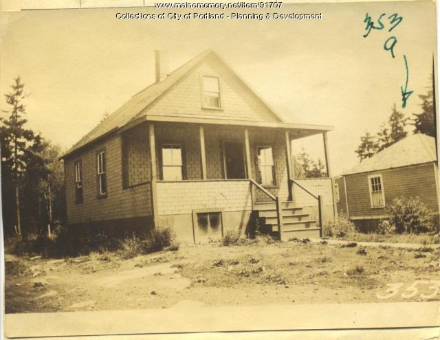 Hoar property, N. Side A Street, Lot 18-19, Peaks Island, Portland, 1924