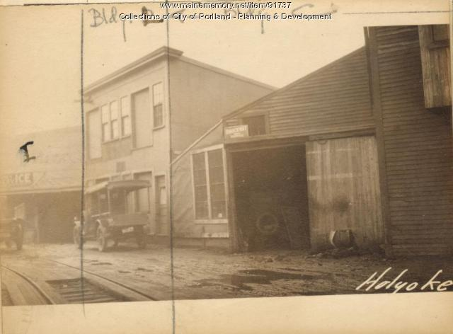 Boiler House, Holyoke Wharf, Portland, 1924