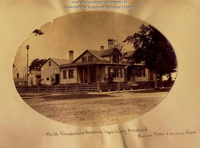 Chamberlain House, Brunswick, ca. 1870