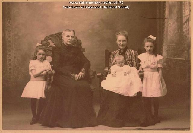 Skolfield Women, Brunswick, ca. 1900