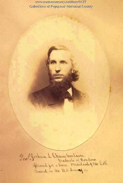 J.L. Chamberlain as a student at Bowdoin College