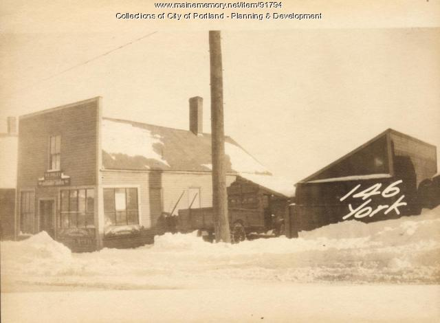 144-148 York Street, Portland, 1924