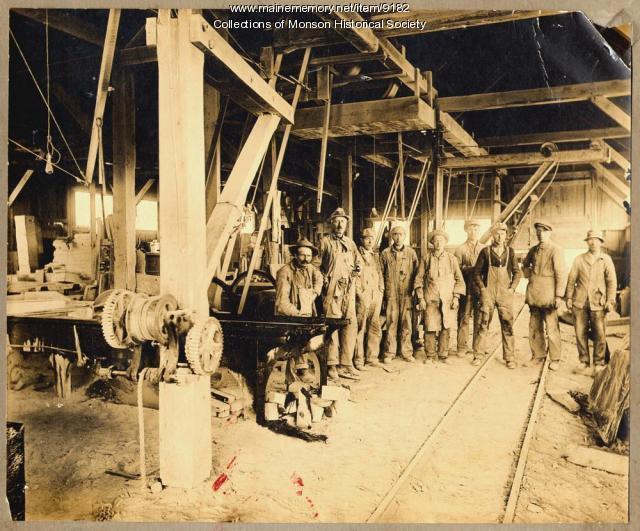 Monson-Maine Slate Company mill