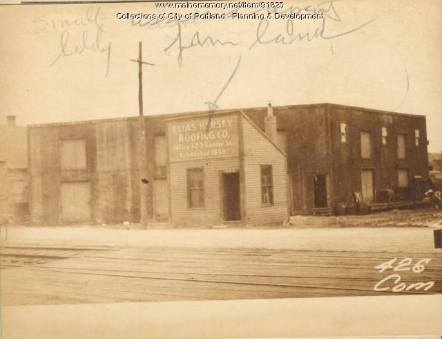422-426 Commercial Street, Portland, 1924
