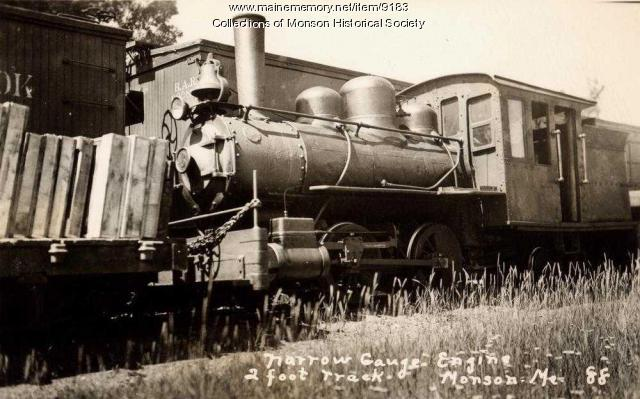 Monson Narrow Gauge Engine No. 3