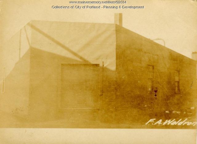 Storage, Richardson Wharf, Portland, 1924