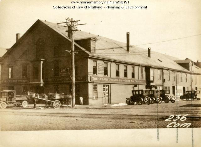 Storage, Union Wharf, Portland, 1924