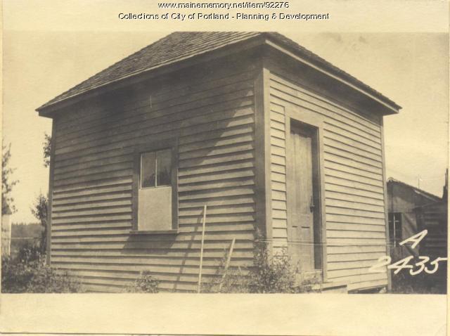 Walker property, Fern Avenue, Long Island, Portland, 1924