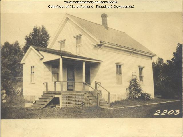 Griffin property, Fern Avenue, Long Island, Portland, 1924