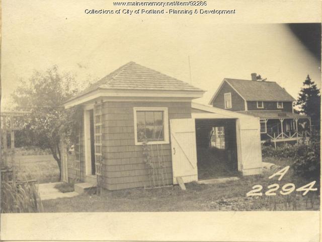 Ellen L. Doe Heirs property, N.E. Shore, Long Island, Portland, 1924