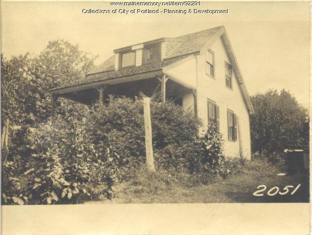 Holland property, Rear N.E. Side Island Avenue and Harrington Avenue, Long Island, Portland, 1924