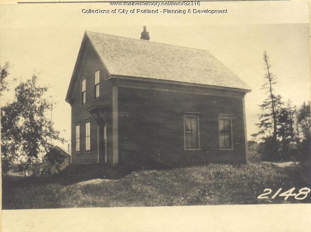 Pierce property, Rear Harbor Grace Fern Avenue, Long Island, Portland, 1924