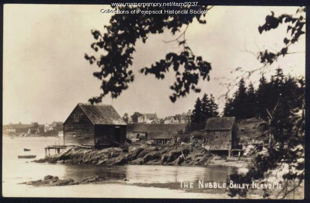 The Nubble, Bailey Island,  ca. 1930