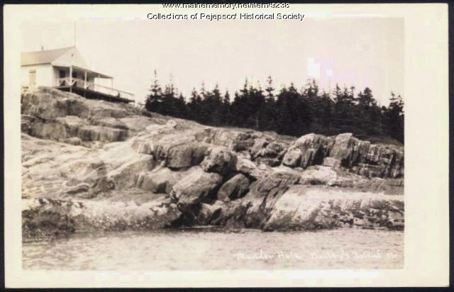 Thunder Hole, Bailey Island, 1938