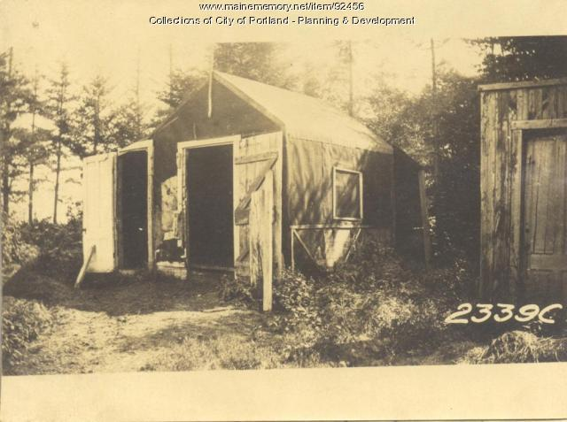 King property, Fern Avenue, Long Island, Portland, 1924