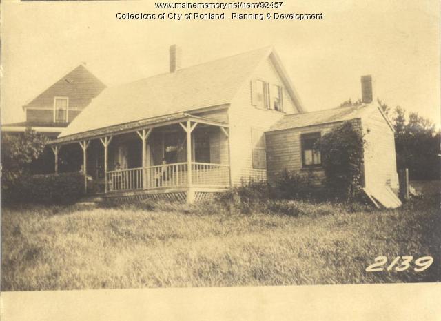 Lamb Jr. property, Cheverick Cove East End Avenue, Long Island, Portland, 1924