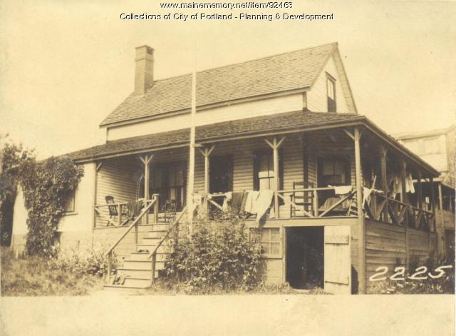 Davis property, West End Harrington Avenue, Long Island, Portland, 1924