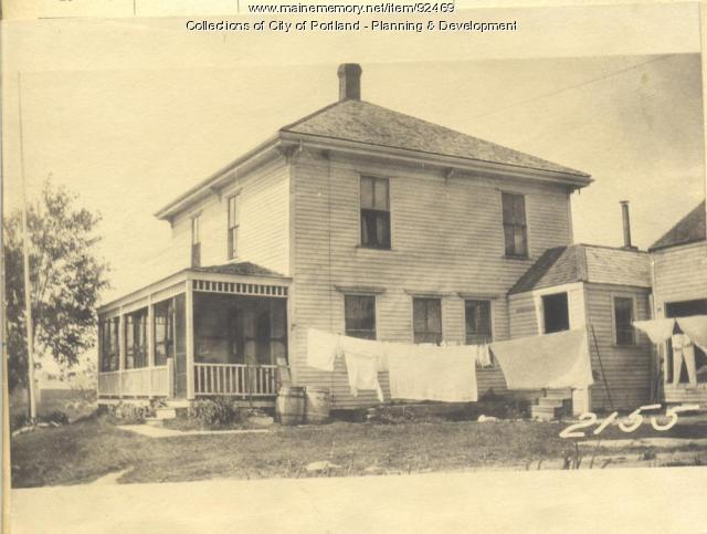Alexander property, Fern Avenue, Long Island, Portland, 1924