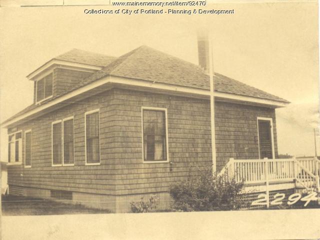Ellen L. Doe Heirs property, N. E. Shore, Long Island, Portland, 1924