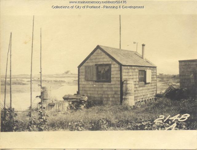 Pierce property, Fern Avenue, Long Island, Portland, 1924