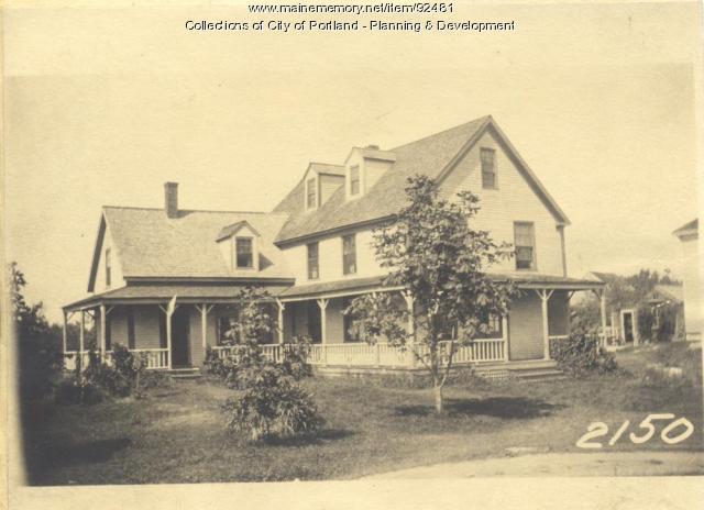 Woodbury property, East Side Harbor Grace Fern Avenue, Long Island, Portland, 1924