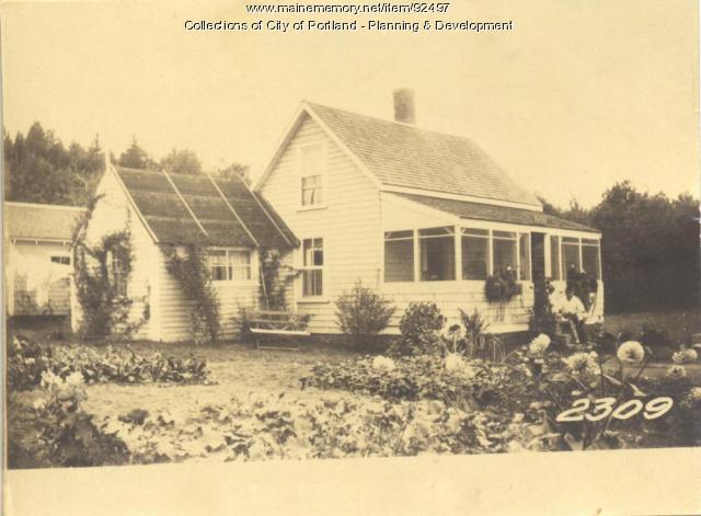 Billings property, East End Avenue, Long Island, Portland, 1924