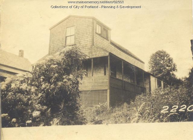 Carpenter property, West End Harrington Avenue, Long Island, Portland, 1924