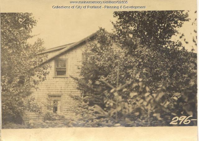 Condy property, S. Side Wood Road, Peaks Island, Portland, 1924