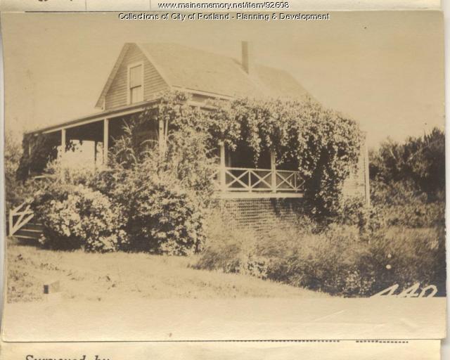 Porter property, Sargent Road, Peaks Island, Portland, 1924
