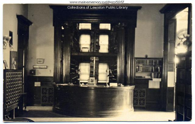 Lewiston Public Library, Lewiston, ca. 1960