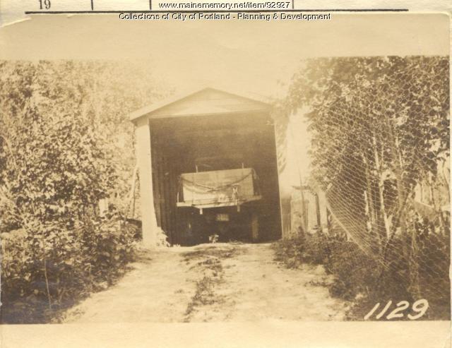 Knight property, S. Side Wood Road, Peaks Island, Portland, 1924