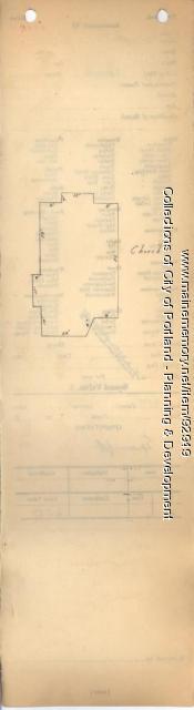 Assessor's Record, Catholic Church property, S. Side Central Avenue, Peaks Island, Portland, 1924