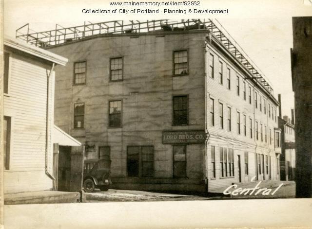 1 Central Wharf, Portland, 1924
