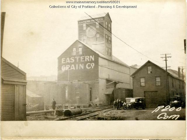 Storage, Commercial Street, Portland, 1924