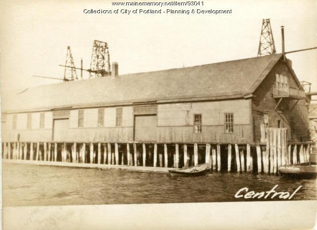 26 Central Wharf, Portland, 1924
