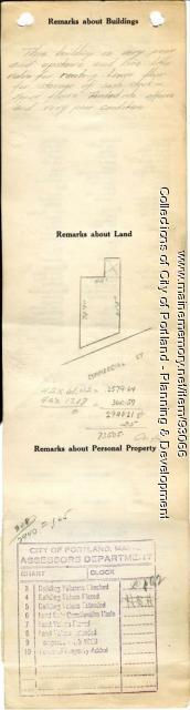 360-366 Commercial Street, Portland, 1924