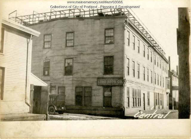 3 Central Wharf, Portland, 1924