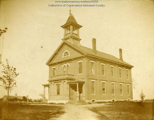 Greely Institute, Cumberland, ca. 1890