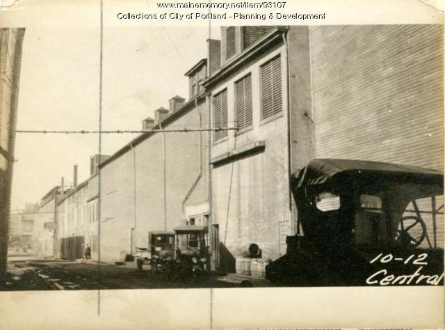 10-12 Central Wharf, Portland, 1924